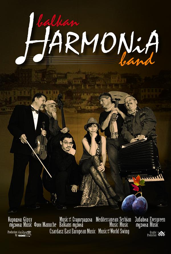 Balkan Harmonia Band Poster My Canada My Choice