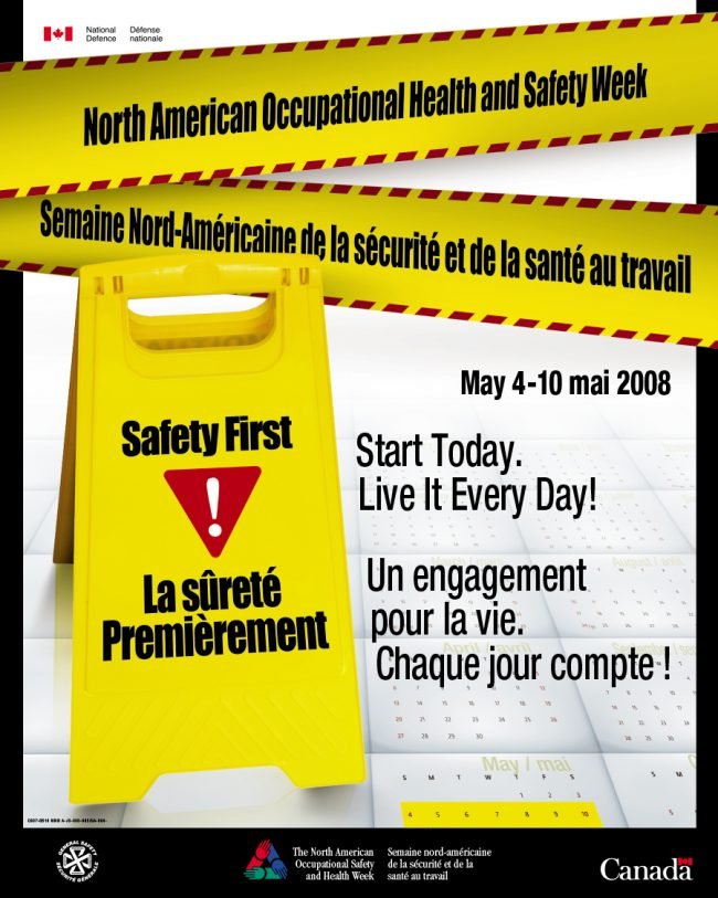Occupational Health And Safety Week Poster My Canada My