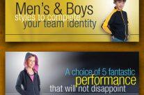 SixO Teamwear – Web banners